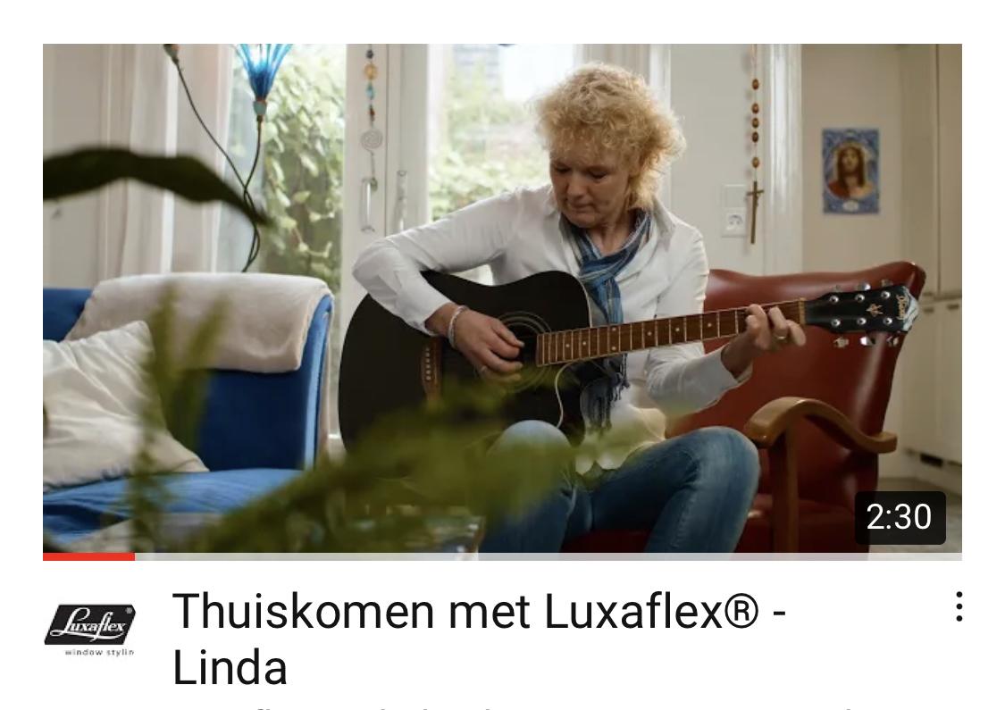 Luxaflexcampagne 'thuiskomen'